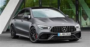 C118 Mercedes-amg Cla45 4matic  Unveiled  H Top Speed