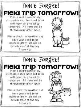Postcard Template By Teaching For Tomorrow Teachers Pay Use This Reminder Note To Send Home With Your Kidoodles