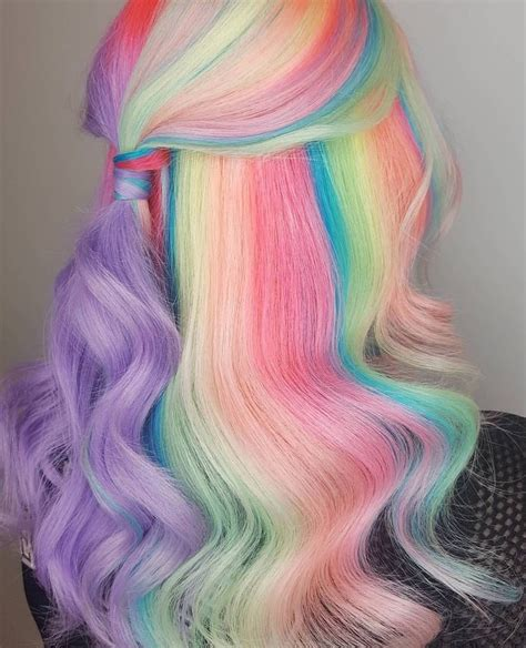 Pin By Kimmy On Color Trends Hair Styles Mermaid Hair
