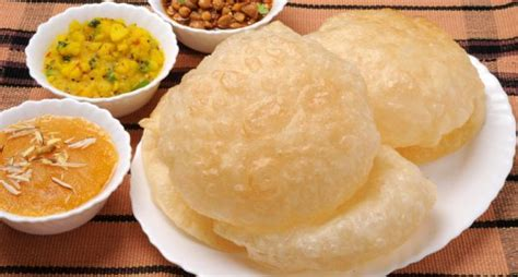 radha cuisine radha ballavi stuffed puri recipe ndtv food