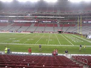 Seating Chart For State Farm Stadium State Farm Stadium Section 126 Arizona Cardinals