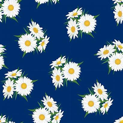 Seamless Floral Abstract Pattern Flower Background Summer