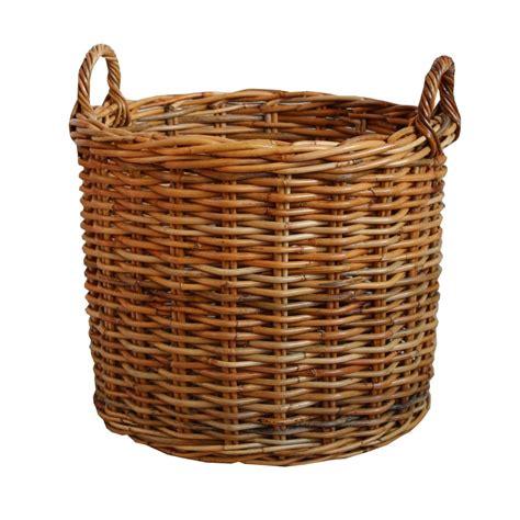 rattan bedroom furniture honey rattan wicker log basket