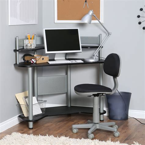 compact corner computer desk small corner computer desk glass convenient small corner
