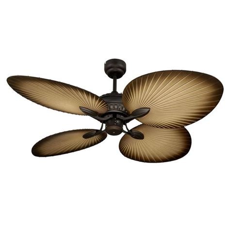 oasis palm leaf ceiling fan lighting indoor