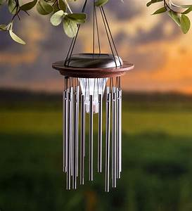Solar, Lighted, Wind, Chime