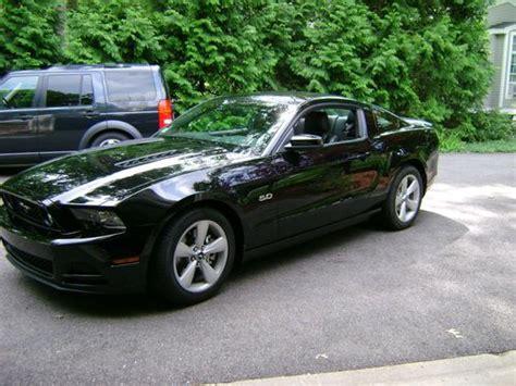 buy   ford mustang gt premium black  black