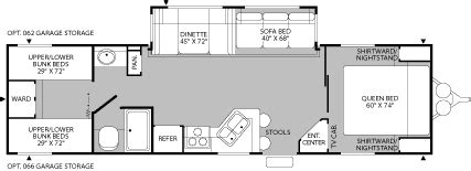Fleetwood Prowler Travel Trailer Floor Plans by 2005 Fleetwood Prowler Regal Travel Trailer Rvweb