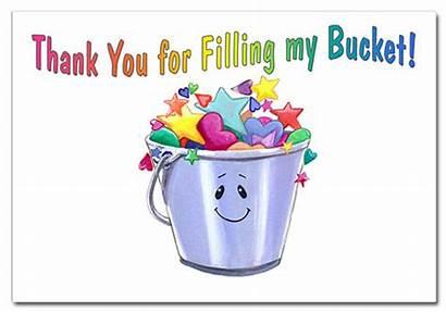 Bucket Fillers Filled Today Filling Program Am