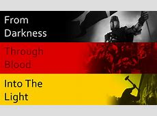 An alternative meaning for the German tricolour vexillology