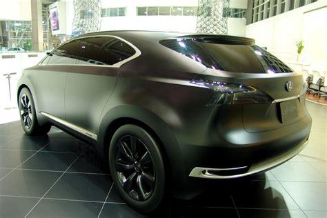 lexus black paint the lexus lf xh concept in matte black lexus enthusiast