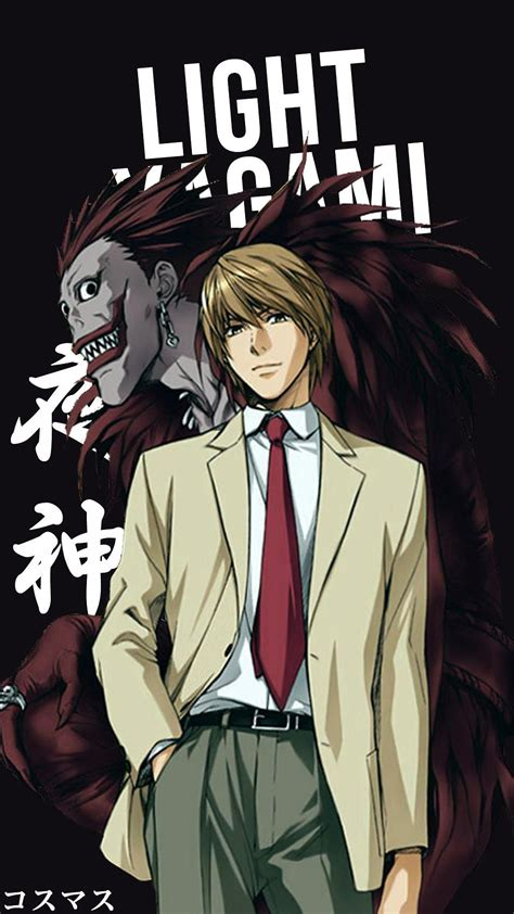 Light Anime Wallpaper - light yagami korigengi fondos personajes