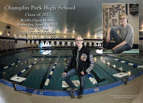 champlin park high school senior open house announcement