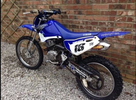Yamaha Ttr 125 4 Stroke Motorbike Dirt Bike Motocross For