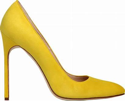 Yellow Clipart Transparent Clip Shoe Purepng Heels