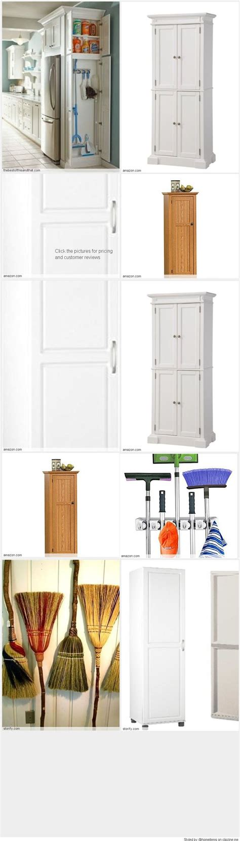 broom and mop cabinet the 22 best images about free standing broom closet