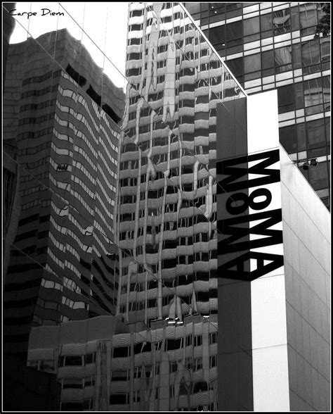 exterior reflection moma new york city flickr photo