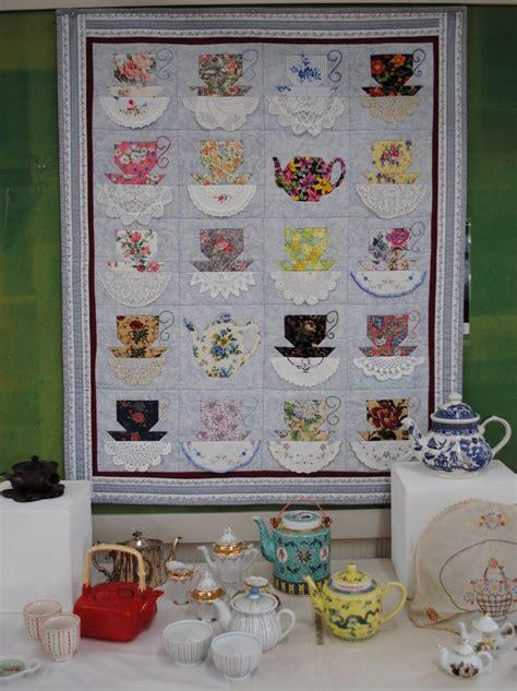 images  teacup teapot quilts  pinterest