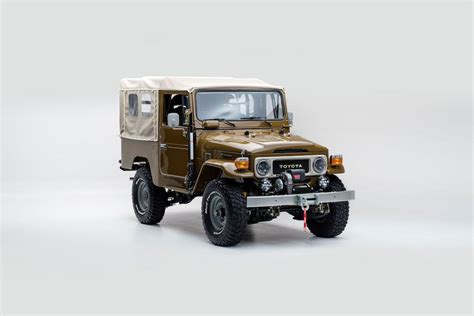classic land cruiser the fj company gives the classic land cruiser a new lease