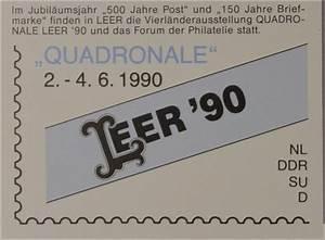 Post Leer öffnungszeiten : sonderblatt der sonderpostkarte quadronale leer 1990 europa cept briefmarkenhaus engel ~ Eleganceandgraceweddings.com Haus und Dekorationen