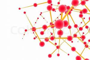 Molecules In Abstract Design