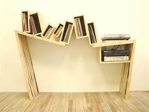 Meuble Platine Vinyle Vintage : meuble vinyle design original ~ Teatrodelosmanantiales.com Idées de Décoration