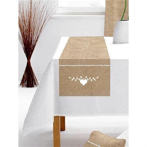 chemin cuisine chemin et set de table chemin de table 40x140 cm chalet