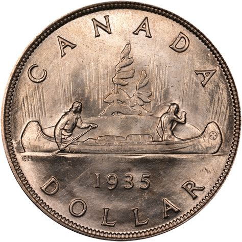 How Much Does One Bundle Of Shingles Cover by Canadian 1 Dollar Coin Reverse Design Evolution 1935 1987