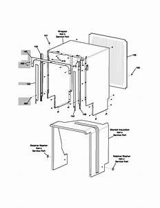 Electrolux Model Edw5500dss0 Dishwasher Genuine Parts