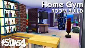 The Sims 4 Room Build - Home Gym - YouTube