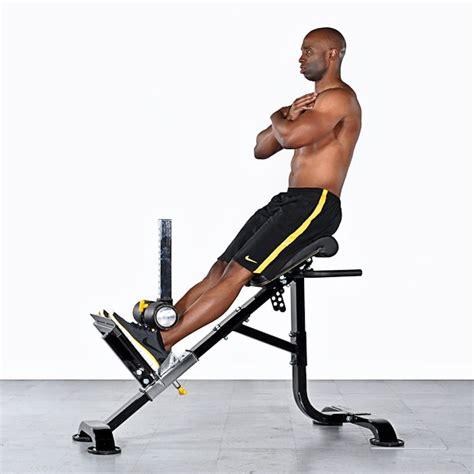 roman chair sit ups uitleg techniek en uitvoering