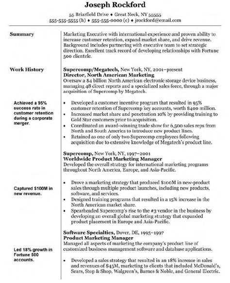 Advertising Manager Resume Template