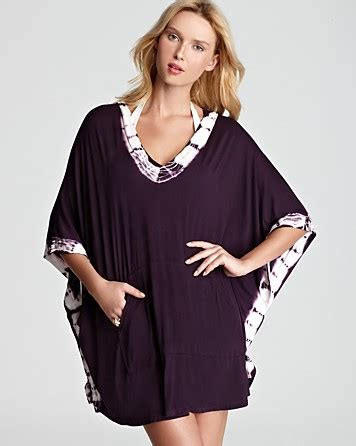 Lucky Brand Summer Lovin' Poncho Swimsuit Cover Up