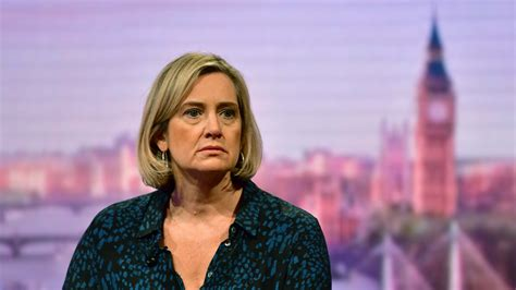Amber Rudd announces she will not stand in forthcoming ...