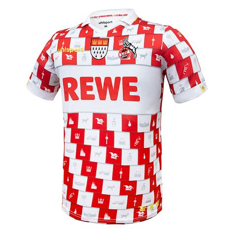 Das zuständige amt hat den fluss wieder freigegeben. uhlsport 1. FC Köln Trikot 2020/2021 Fastelovend - Hier ...