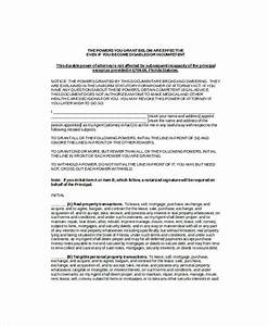 power of attorney 10 free word pdf documents download With corporate power of attorney template