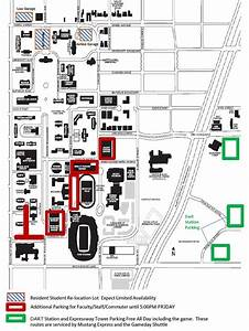 Important Game Day Parking Information For Faculty And