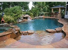 Natural Free Form Swimming Pools Design 149 — Custom Outdoors