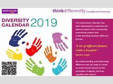 Get your 2019 Diversity Calendar StaffNet The