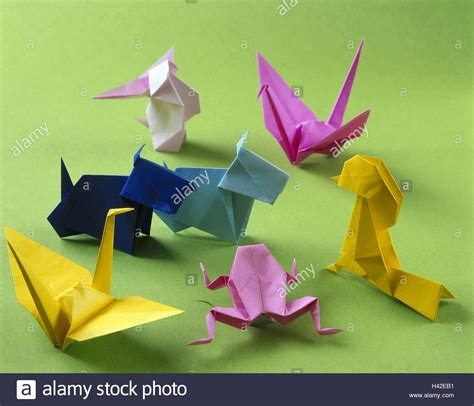 origami japanese paper folding art animals differently