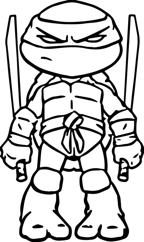 ninja turtles art coloring page tmnt party ninja