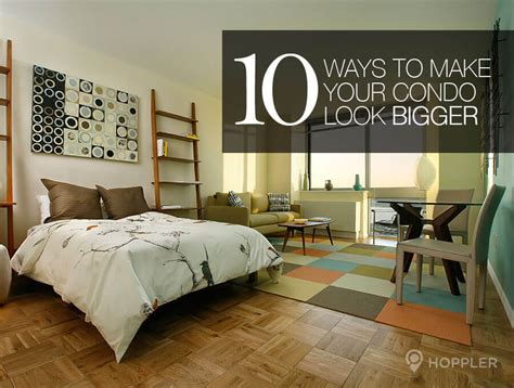 how to make a room look bigger with paint interior