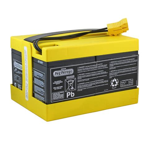 24 volt batterie peg perego original 24 volt yellow battery batterymart