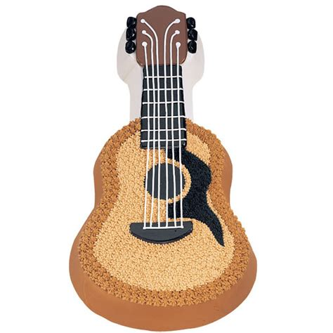 acoustic guitar cake wilton