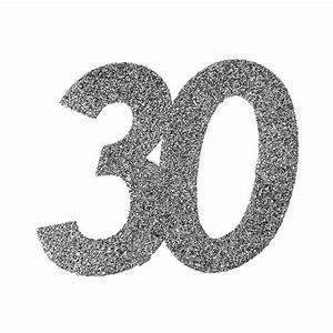 Pappteller 30 Geburtstag : xxl glitzer konfetti 30 geburtstag 6er pack g nstig kaufen bei ~ Markanthonyermac.com Haus und Dekorationen