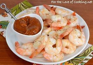 Roasted Shrimp Cocktail | For the Love of Cooking