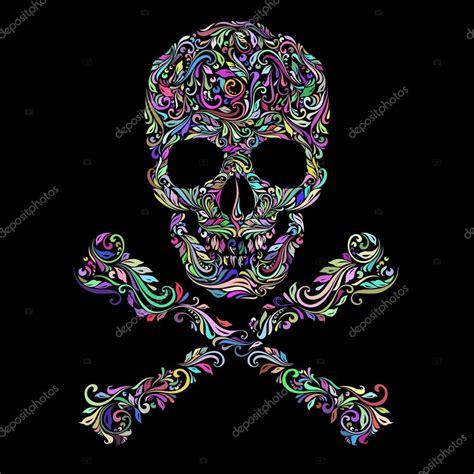 Imágenes: enPatrón de colores florales de