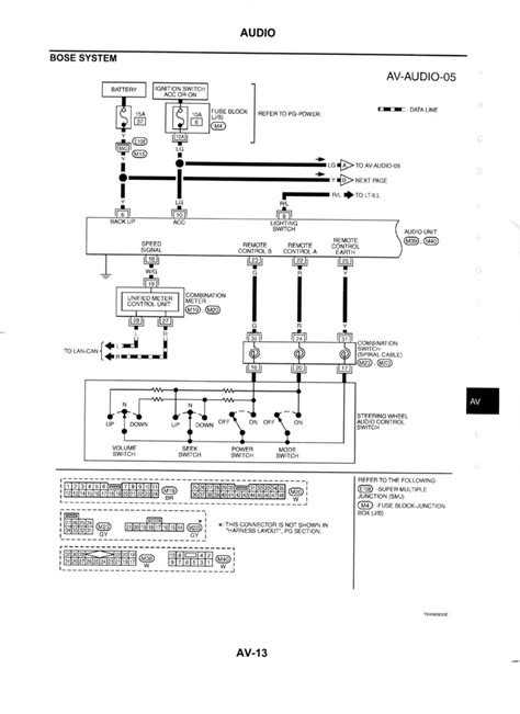 300zx Turn Light Wiring Diagram by Qx56 28060 Zq30a Bose Speakers Wiring Diagram