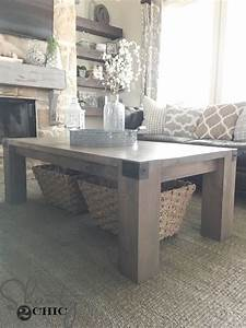 modern farmhouse coffee table and how to video shanty 2 chic With industrial farmhouse coffee table