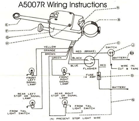 turn signal switch wiring